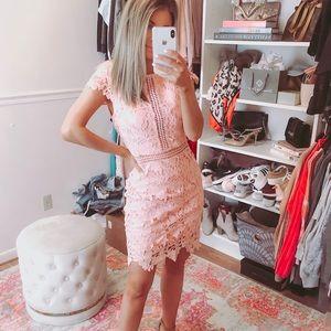 Dresses & Skirts - Pink, lace dress